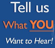 FIND OUT WHAT YOUR LISTENERS WANT